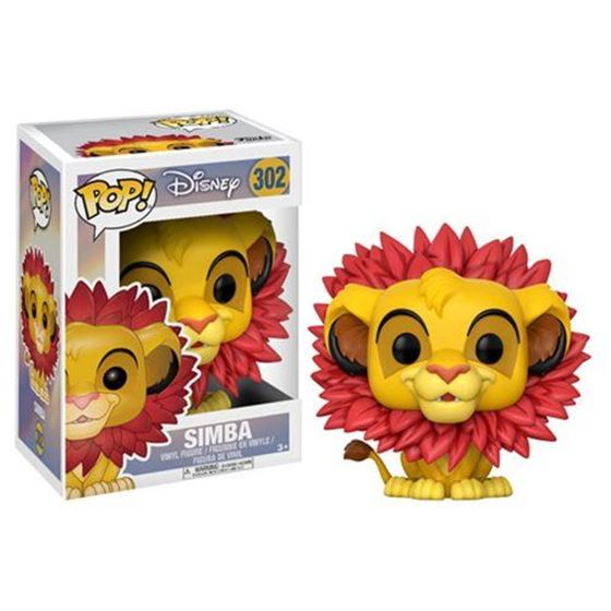 תמונה של The Lion King Simba Leaf Mane Pop