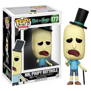 תמונה של ריק ומורטי מיסטר פופי באהטהול-Rick and Morty Mr. Poopy Butthole Pop