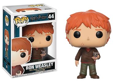 תמונה של POP HARRY POTTER SERIES 4 RON WEASLEY W/ SCABBERS