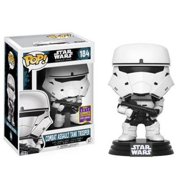 תמונה של STAR WARS COMBAT ASSAULT TANK TROOPER POP SDCC