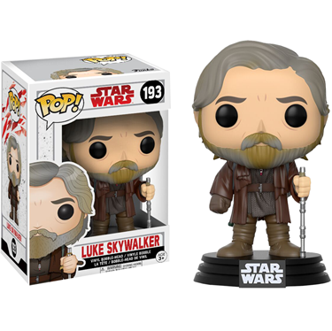 תמונה של Star Wars E8: The Last Jedi - Luke Skywalker Pop