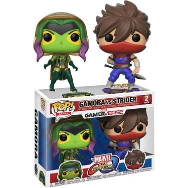 תמונה של Marvel Vs. Capcom - Gamora vs Strider 2pk Pop