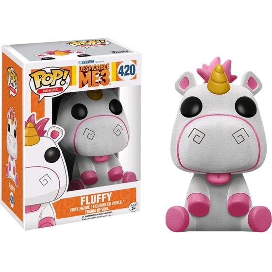 תמונה של Despicable Me 3 Fluffy Flocked Pop