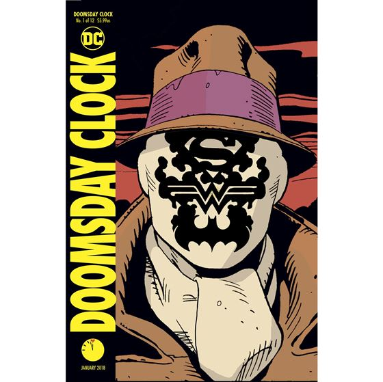 תמונה של DOOMSDAY CLOCK #1 LENTICULAR COVER