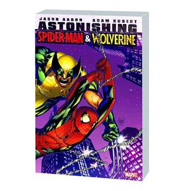 תמונה של ASTONISHING SPIDER-MAN AND WOLVERINE TP