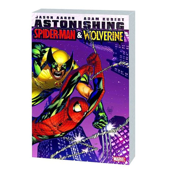 תמונה של ASTONISHING SPIDER-MAN AND WOLVERINE TP