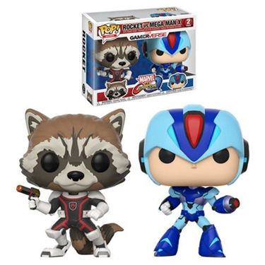 תמונה של Marvel Vs Capcom Rocket Vs MegaMan Pop 2pk