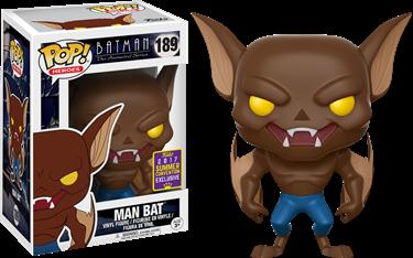 תמונה של BATMAN: THE ANIMATED SERIES MAN BAT SDCC POP