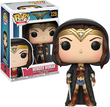 תמונה של WONDER WOMAN MOVIE WONDER WOMAN IN CLOAK POP
