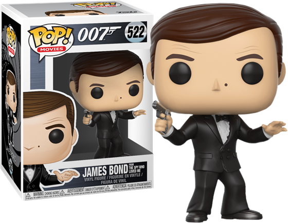 תמונה של JAMES BOND ROGER MOORE POP
