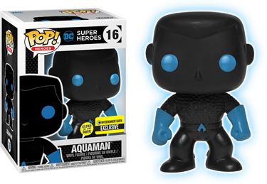 תמונה של AQUAMAN SILHOUETTE GID POP