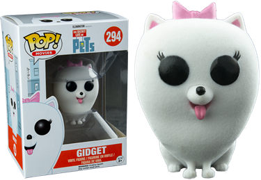 תמונה של SECRET LIFE OF PETS GIDGET FLOCKED POP