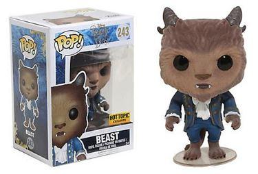 תמונה של BEAUTY AND THE BEAST BEAST FLOCKED POP