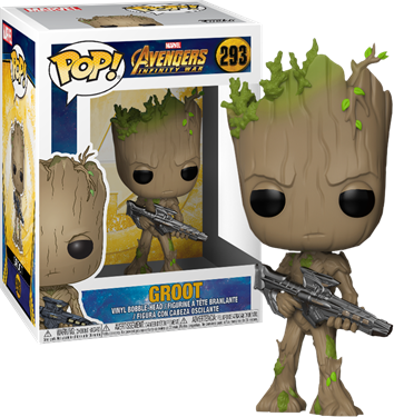 תמונה של גרוט-AVENGERS INFINITY WAR GROOT POP