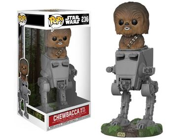 תמונה של STAR WARS CHEWBACCA WITH AT-ST DLX POP