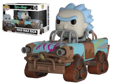 תמונה של RICK AND MORTY MAD MAX RICK RIDE POP