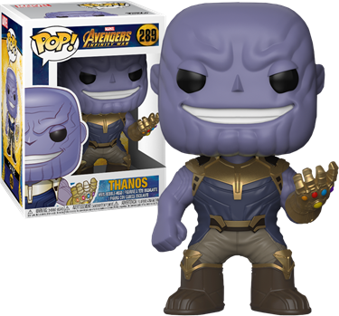 תמונה של תאנוס - AVENGERS INFINITY WAR THANOS POP