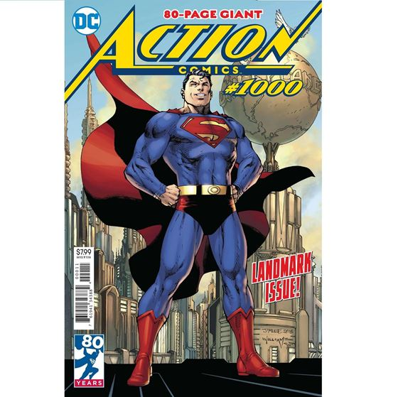 תמונה של ACTION COMICS #1000 JIM LEE COVER