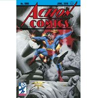 תמונה של ACTION COMICS #1000 STEVE RUDE COVER