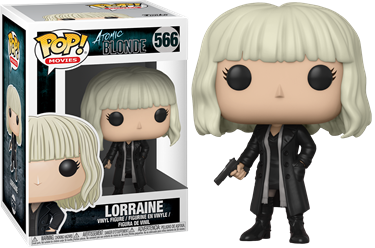 תמונה של ATOMIC BLONDE LORRAINE WITH GUN POP
