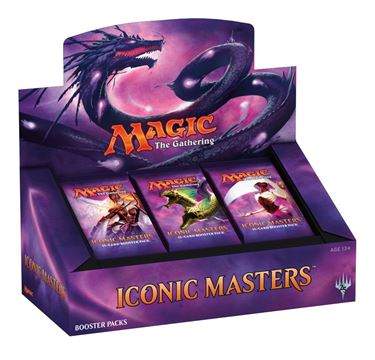 תמונה של MAGIC THE GATHERING: ICONIC MASTERS BOOSTER PACK