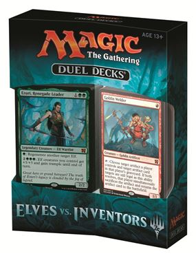 תמונה של MAGIC THE GATHERING: ELVES VS. INVENTORS DUEL DECKS