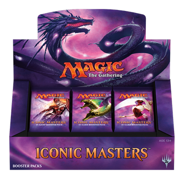 תמונה של MAGIC THE GATHERING: ICONIC MASTERS BOOSTER BOX