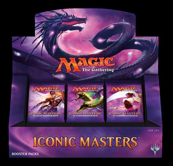 תמונה של MAGIC THE GATHERING: ICONIC MASTERS BOOSTER BOX