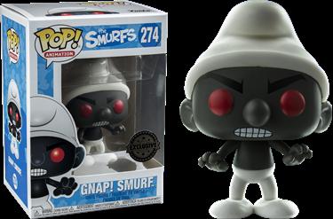 תמונה של SMURFS GNAP! SMURF BLACK POP