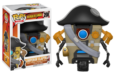תמונה של BORDERLANDS CLAPTRAP EMPEROR POP