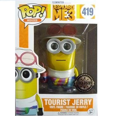 תמונה של DESPICABLE ME 3 TOURIST JERRY METALLIC POP