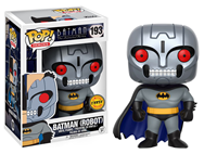 תמונה של BATMAN ANIMATED SERIES ROBOT BATMAN CHASE POP