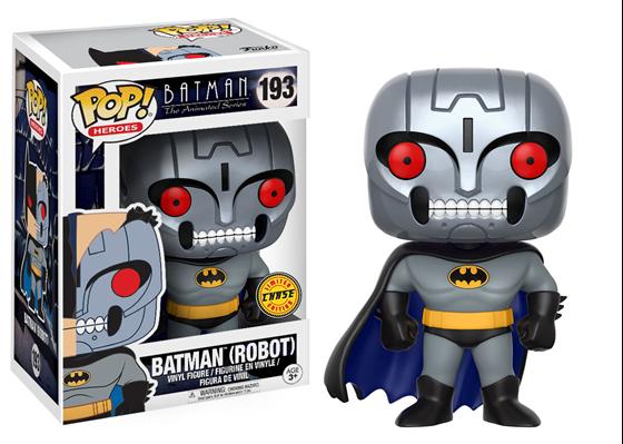 תמונה של BATMAN ANIMATED SERIES ROBOT BATMAN CHASE POP