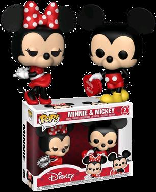 תמונה של MICKEY AND MINNIE VALENTINE 2-PK EXC POP