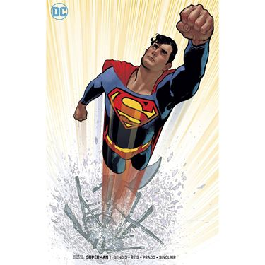 תמונה של SUPERMAN #1 HUGHES COVER