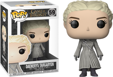 תמונה של GAME OF THRONES DAENERYS IN WHITE COAT POP