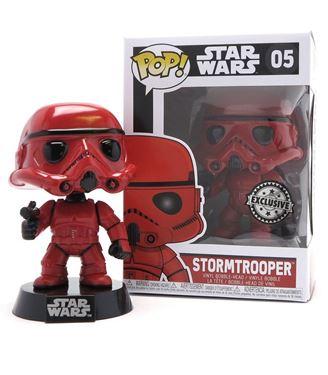 תמונה של STAR WARS RED STORMTROOPER POP EXC