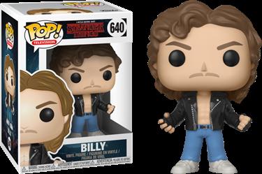 תמונה של דברים מוזרים בילי החתיך - STRANGER THINGS BILLY POP