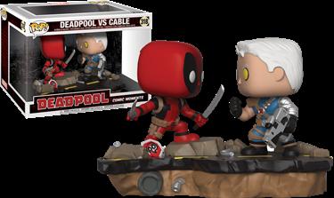 תמונה של DEADPOOL VS CABLE COMIC MOMENTS POP 2-PK