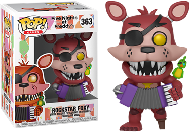 תמונה של FIVE NIGHTS AT FREDDY'S ROCKSTAR FOXY POP