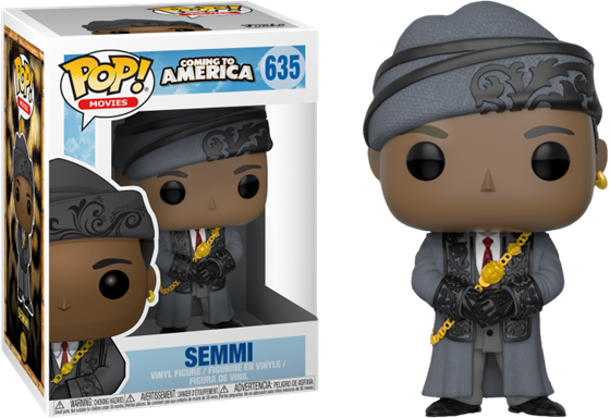 תמונה של COMING TO AMERICA SEMMI POP