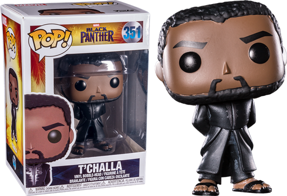 תמונה של BLACK PANTHER T'CHALLA IN BLACK ROBE POP