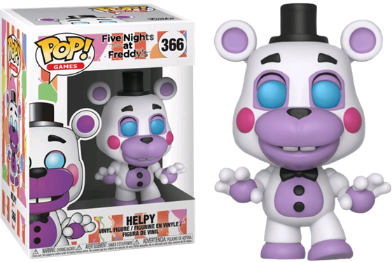 תמונה של FIVE NIGHTS AT FREDDY'S HELPY POP