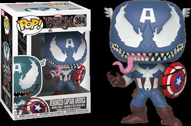 תמונה של קפטן אמריקה ונום - VENOM VENOMIZED CAPTAIN AMERICA POP
