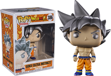 תמונה של -דרגון בול DRAGON BALL SUPER GOKU ULTRA INSTINCT POP