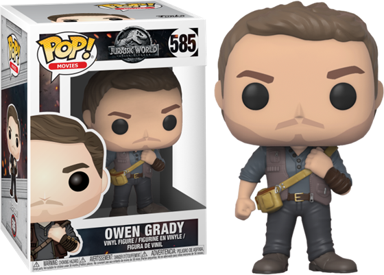 תמונה של JURASSIC WORLD: FALLEN KINGDOM OWEN GRADY POP