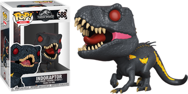 תמונה של JURASSIC WORLD: FALLEN KINGDOM INDORAPTOR POP