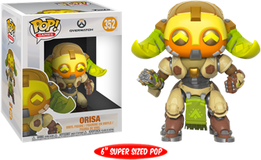תמונה של OVERWATCH ORISA 6 INCH POP