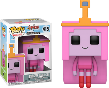 תמונה של ADVENTURE TIME PRINCESS BUBBLEGUM MINECRAFT POP
