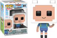 תמונה של ADVENTURE TIME FINN MINECRAFT POP